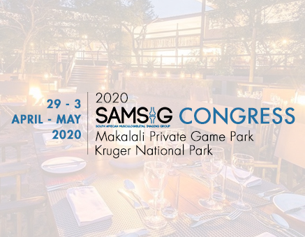 RSSA: SAMSIG 2020 Congress - POSTPONED TO APRIL 2021 image